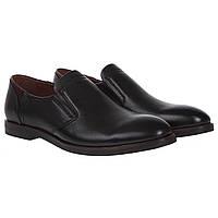 Туфли мужские Basconi (классические, черные, удобные, стильные)