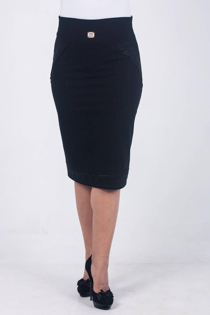 Женская юбка Адель черная