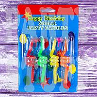 Свечи для торта Пружинки толстые, фото 1