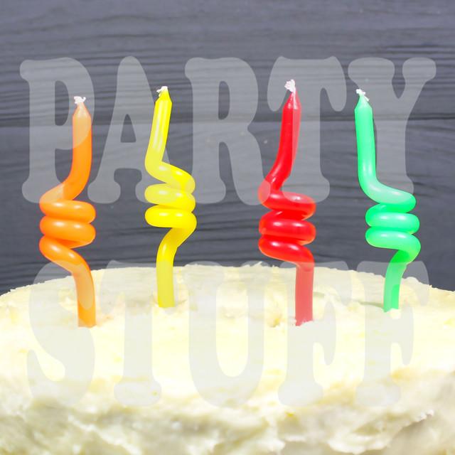 Свечи для торта спираль толстые
