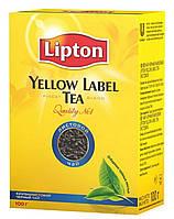Чай черный Липтон листовой 100г
