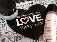 Подарочный набор (крем для глаз с разглаживающим эффектом, успокаивающий гель) мэри кей, mary kay