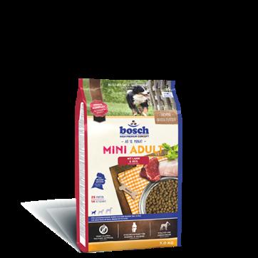Bosch ADULT MINI Lamb & Rice 15 кг - корм для собак мелких пород (ягненок/рис)