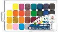 Краски акварель медовые Луч 26c1579, 32 цвета, б/кист.