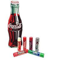 Набор бальзамов для губ Lip Smacker Coca Cola in Tin 6 шт в подарочной упаковке