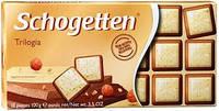 Шоколад Shogetten Trilogia (Шогеттен черный,молочный и белый) 100 г. Германия