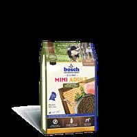 Bosch (Бош) MINI ADULT Poultry & Millet 1кг - корм для взрослых собак маленьких пород (птица/просо)