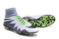 Футбольные бутсы Nike Hypervenom Phantom II FG Volt/Black/Hyper Turquoise, фото 1