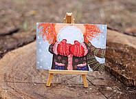 Листівка «Руда зима»