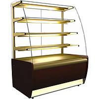 Кондитерская холодильная витрина ВХСв-0,9д Carboma