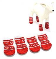 Добаз Шкарпетки для собак Сніжинка PS063 4шт S