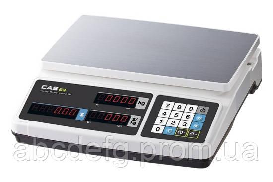 Весы торговые CAS PR-15В без стойки