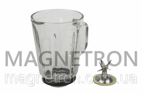 Чаша блендера 1500ml + нож для кухонных комбайнов Profi Cook (без гайки)