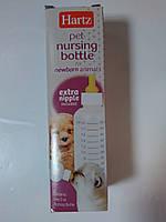 Бутылочка с 2 сосками для кормления котят и щенков.