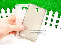 Силиконовый TPU чехол для LG Max X155