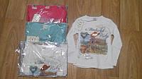 Регглан,блузка коттоновая для девочки110-128 Zelish