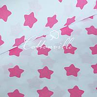 Польская бязь Розовые прянички на белом(40 мм), фото 1