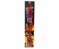 Шампуры 6шт 45 * 1 см с деревянной ручкой в блистере СКАУТ a0720