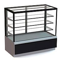 Кондитерская холодильная витрина ВХСв - 0,9д Carboma Cube ТЕХНО