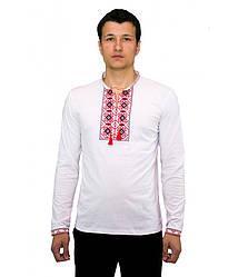 Вишита футболка хрестиком «Ромби» М-614-11