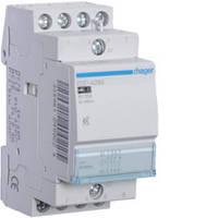 Контактор безшумный 25A, 3НВ+1НЗ, 24В, 2м Hager (ESD428S), фото 1