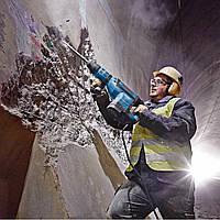 .Штробление под проводку в бетоне, глубина штробы 2 см