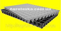 Кассеты для рассады 160 ячеек, Польша, размер 40х60см УТОЛЩЕННАЯ, толщина стенки 0,75мм