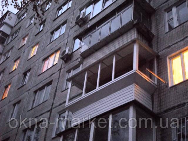 """""""Окна Маркет"""" Вынос балкона"""