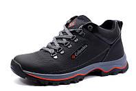 Зимние ботинки мужские на меху Columbia TRACK II, черные, натуральная кожа, р. 42