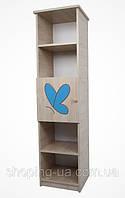 Стелаж BABY BOO гравированная голубая бабочка