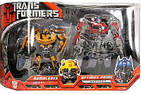 Набор 2в1 Бамблби (Делюкс) + Оптимус (Вояджер) - Bumblebee&Optimus Prime, TF1, Automorph, Hasbro