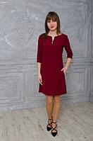 Красивое женское платье свободного покроя