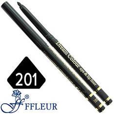 Ffleur - Карандаш ML-200 для глаз механический Тон №201 black матовый