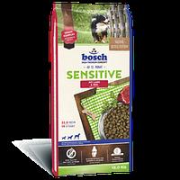 Bosch (Бош) ADULT Sensitive Lamb & Rice - корм для собак, склонных к аллергии (ягненок/рис), 15 кг