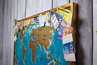 Скретч карта мира My Vintage Map RU ( на русском языке )