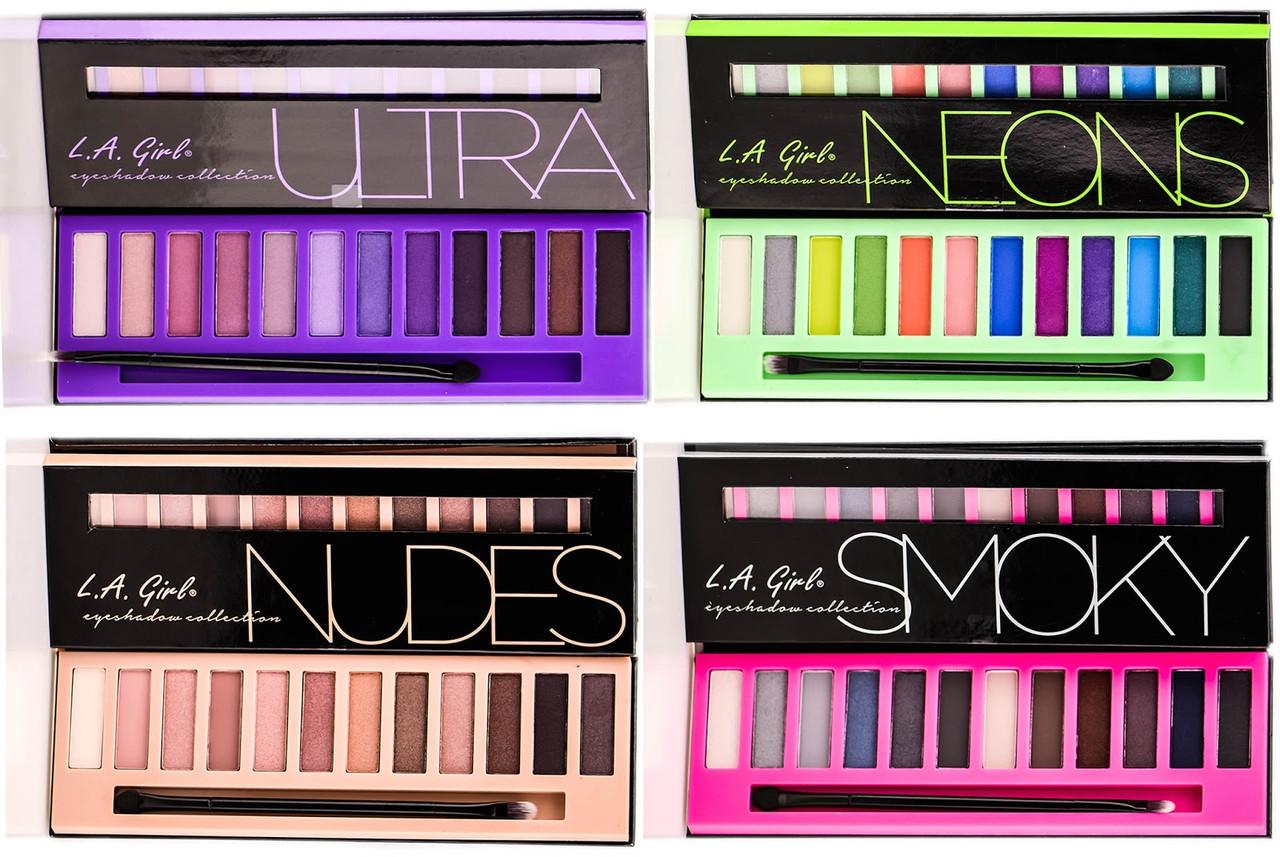 L.A.Girl GES 331 Beauty Brick Eyeshadow Collection Nudes - Палитра теней для век (телесный