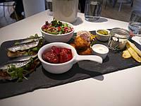 Блюдо, поднос, тарелка 39,5х22 см сланцевая посуда
