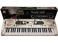 Детский синтезатор орган с микрофоном MQ-020.