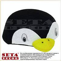 Головной убор шапка Пингвин карнавальная