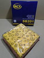 Фильтр воздушный ВАЗ 2109-2115 инжектор SCT