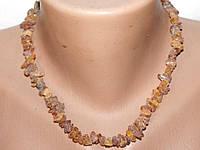 Ожерелье Янтарь 38 см 4-10 мм Натуральный Лечебный