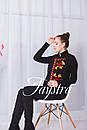 Жилетка женская, безрукавка с вышивкой, кашемир,этно , фото 4
