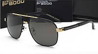 Солнцезащитные очки Porsche P8267 (цвет черный с золотом), фото 1
