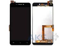 Дисплей (экран) для телефона Vivo X3, X3T + Touchscreen Black