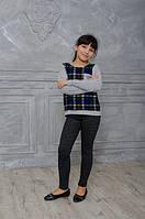 Модные детские лосины с кармашками