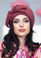 Фетровый берет шляпа для женщин