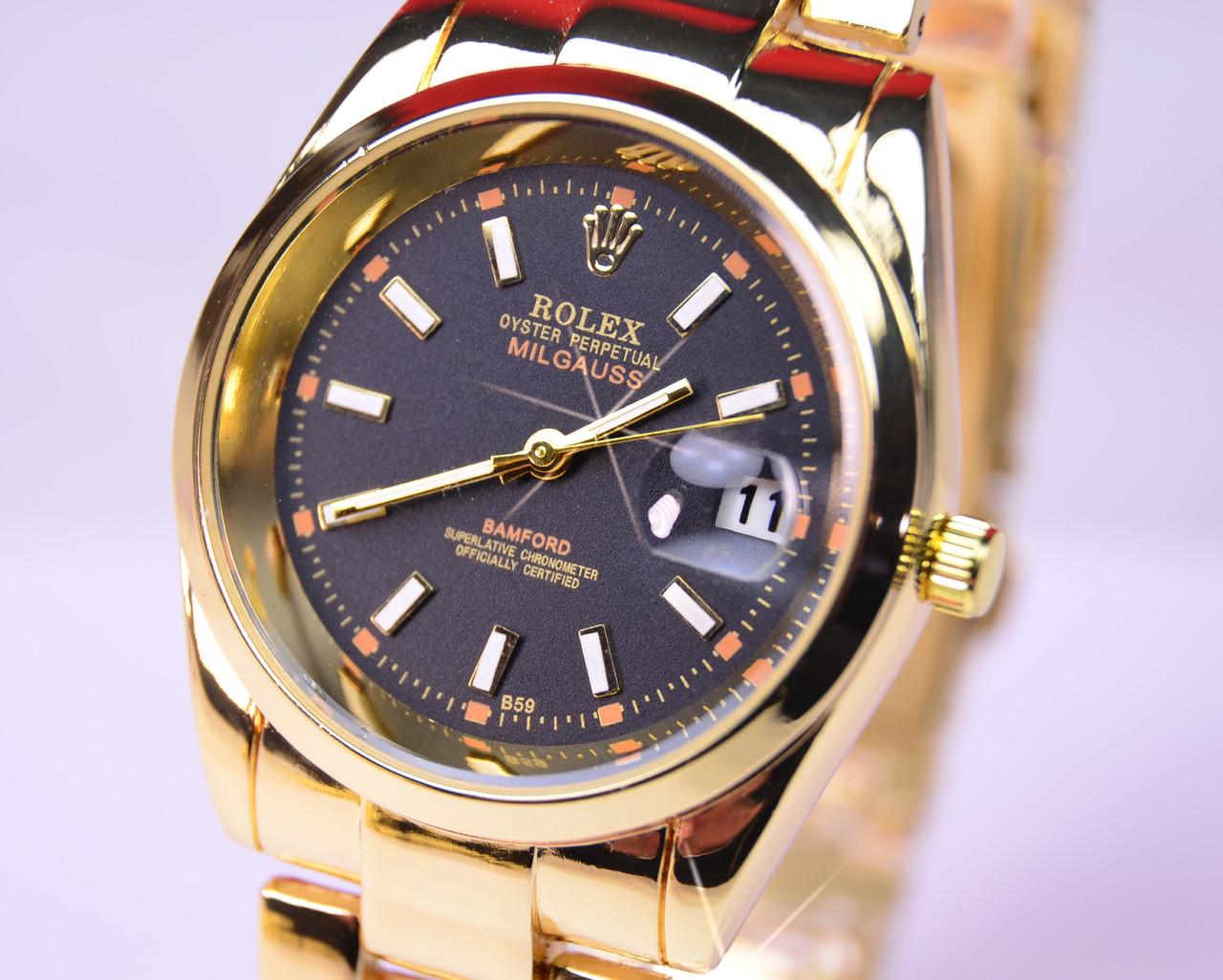 Наручные часы Rolex Oyster Perpetual Milgauss Gold Date