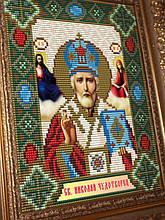 Набор для выкладки алмазной техникой «Святой Николай Чудотворец»
