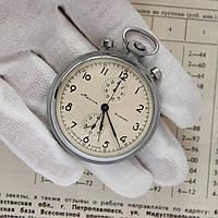 Молния Механизм 3017 Хронограф карманный СССР