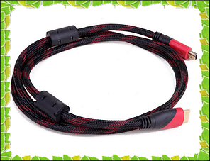 HDMI-HDMI кабель позолоченный усиленная обмотка
